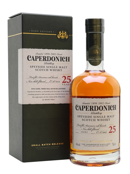 Caperdonich 25 Year Old /  Secret Speyside Speyside Whisky
