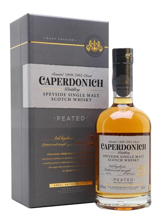 Caperdonich Peated 25 Year Old / Secret Speyside Batch 2 Speyside Whisky