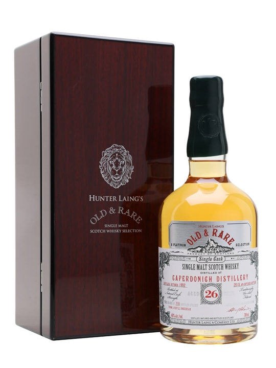 Caperdonich 1992 / 26 Year Old / Old & Rare Speyside Whisky