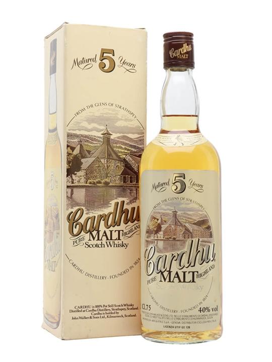 Cardhu 5 Year Old / Bot.1980s Speyside Single Malt Scotch Whisky