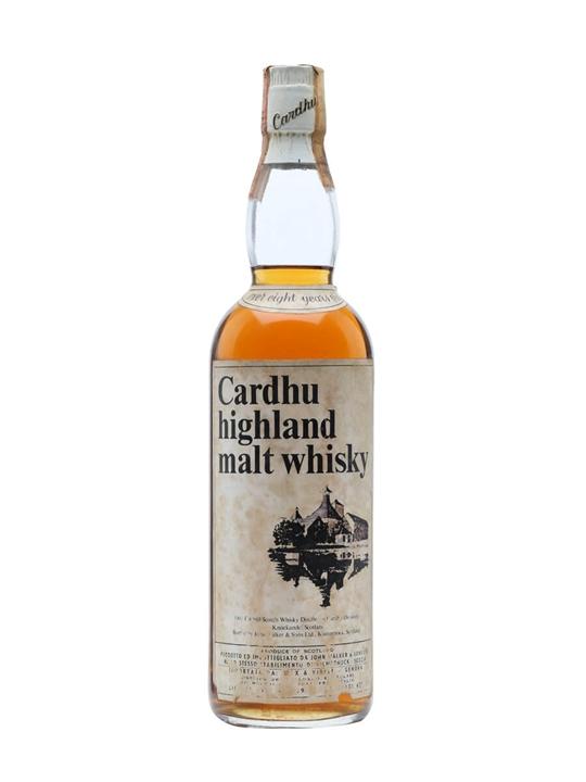 Cardhu 8 Year Old / Bot.1970s Speyside Single Malt Scotch Whisky