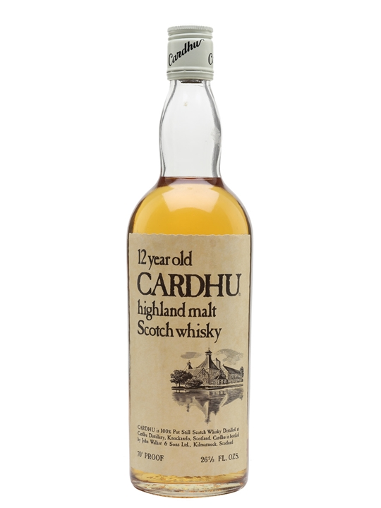 Cardhu 12 Year Old / Bot.1970s Speyside Single Malt Scotch Whisky