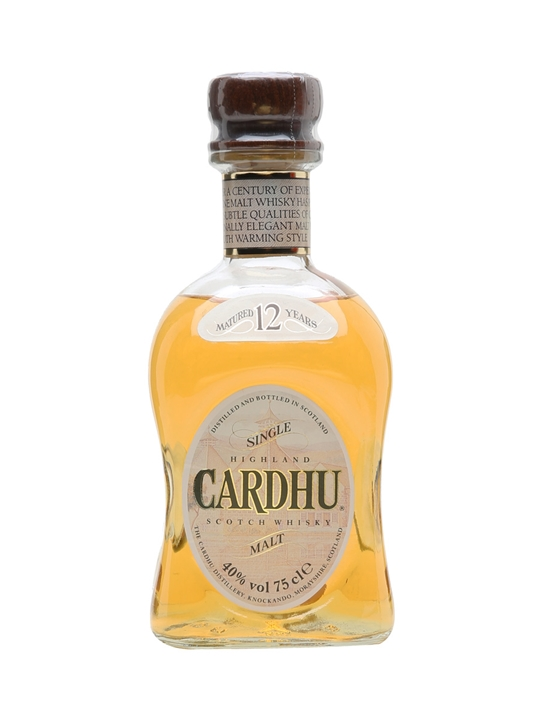 Cardhu 12 Year Old  Bot.1980s Speyside Single Malt Scotch Whisky