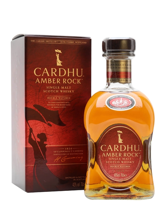 Click to view product details and reviews for Cardhu Amber Rock Speyside Single Malt Scotch Whisky.