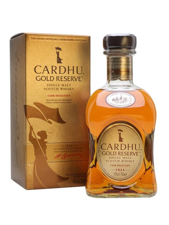 Cardhu Gold Reserve / Cask Selection Speyside Whisky