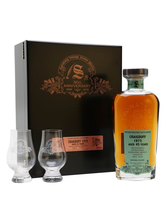Craigduff 1973 / 45 Year Old / Signatory 30th Anniversary Speyside Whisky