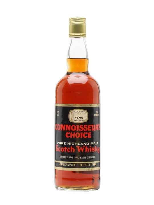 Cragganmore 1968 / 11 Year Old / Connoisseurs Choice Speyside Whisky
