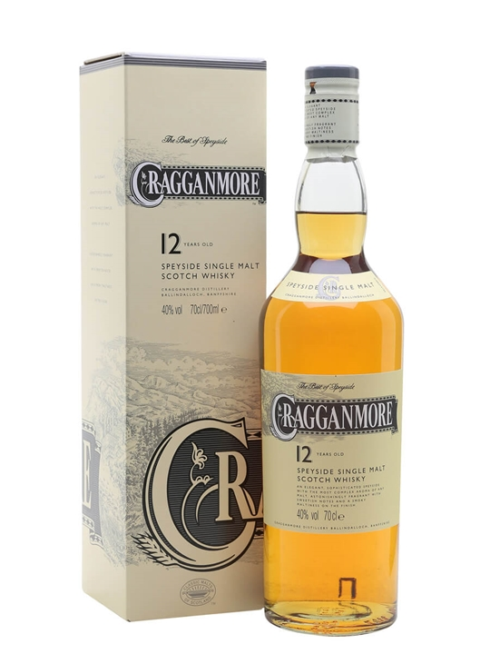 Cragganmore 12 Year Old Speyside Single Malt Scotch Whisky