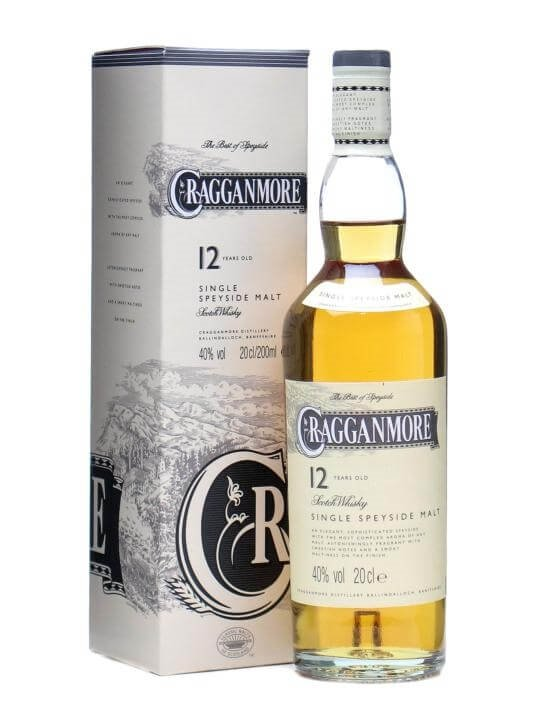Cragganmore 12 Year Old / Small Bottle Speyside Whisky