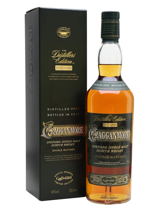 Cragganmore 2005 / Distillers Edition Speyside Whisky