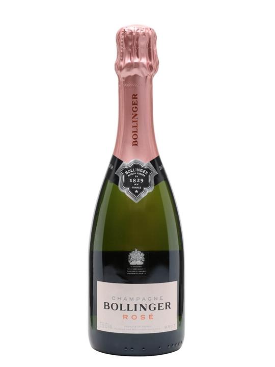 Bollinger Rose Champagne / Half Bottle