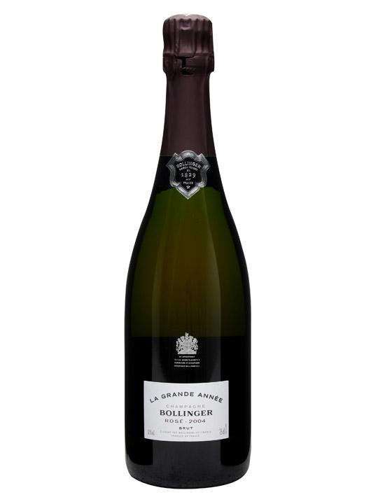 Bollinger La Grande Annee Rose 2004 / Pink Champagne