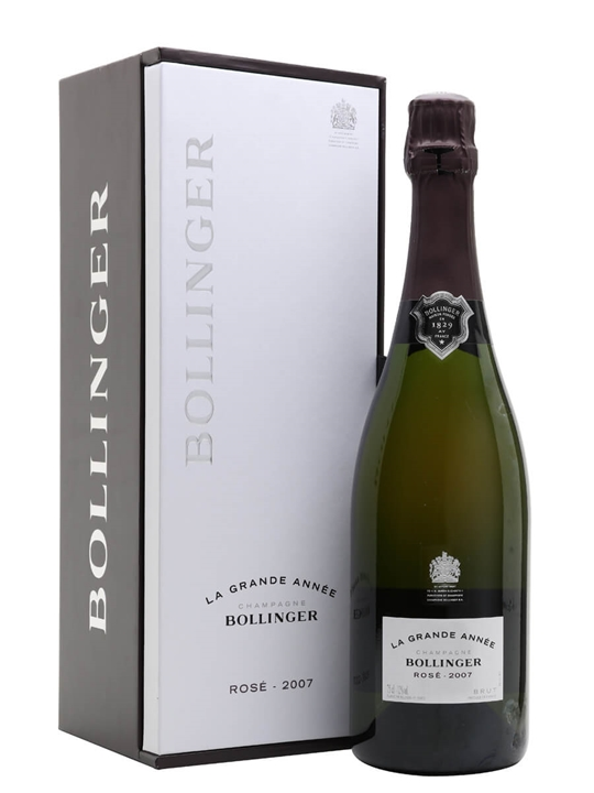 Bollinger La Grande Annee Rose Champagne 2007