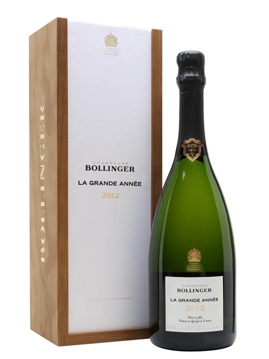 Bollinger Grande Annee 2012 Champagne