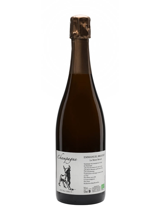 Emmanuel Brochet Le Mont Benoit NV Champagne /  Extra Brut