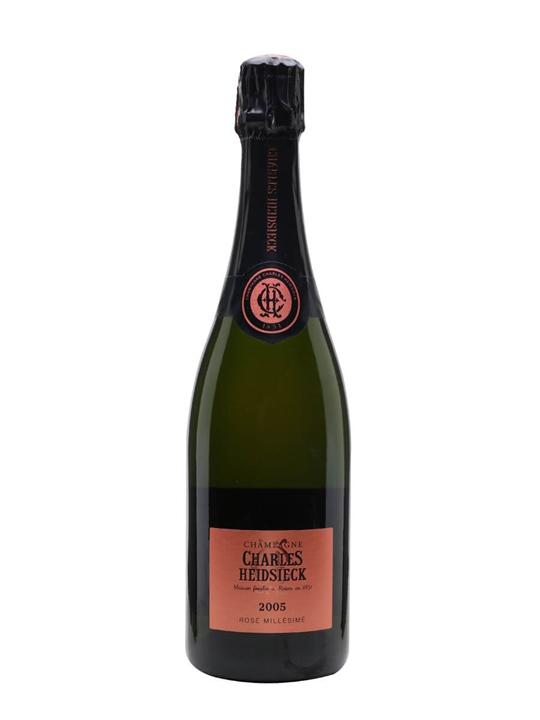Charles Heidsieck Rose Millesime 2005 Champagne