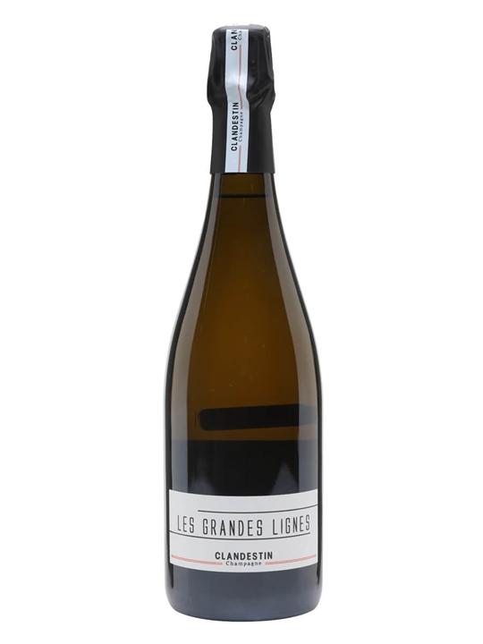 Clandestin Les Grandes Lignes Champagne / Brut Nature