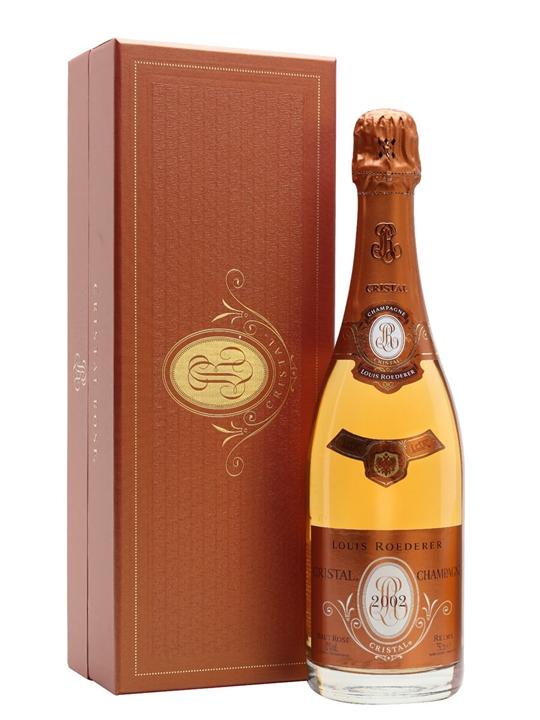 Louis Roederer Cristal Rose 2002 Champagne