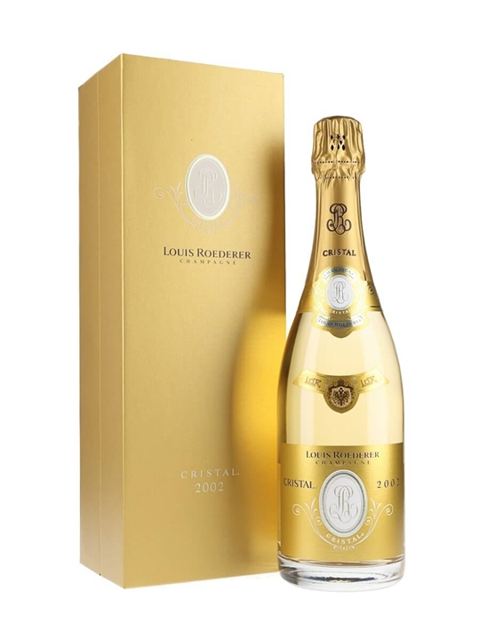 Louis Roederer Cristal 2002 Champagne / Late Release