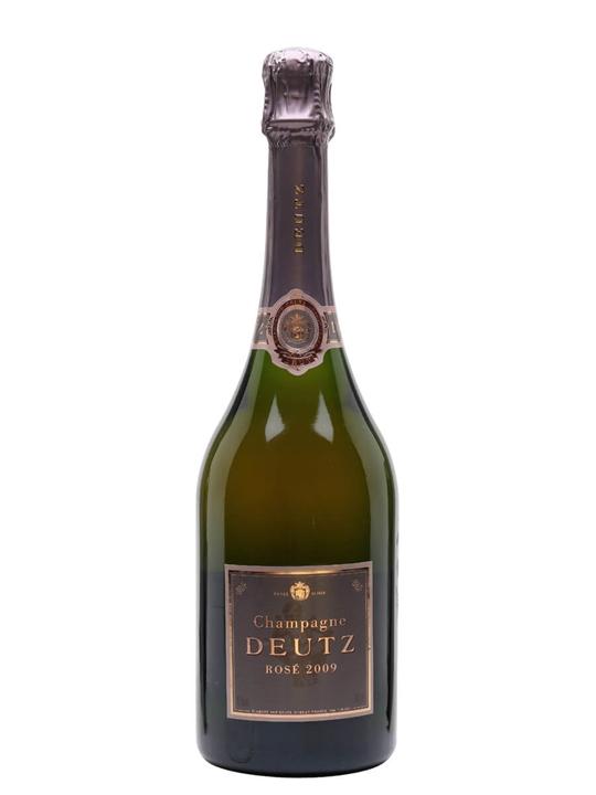 Champagne Deutz Brut Rose 2009 Champagne