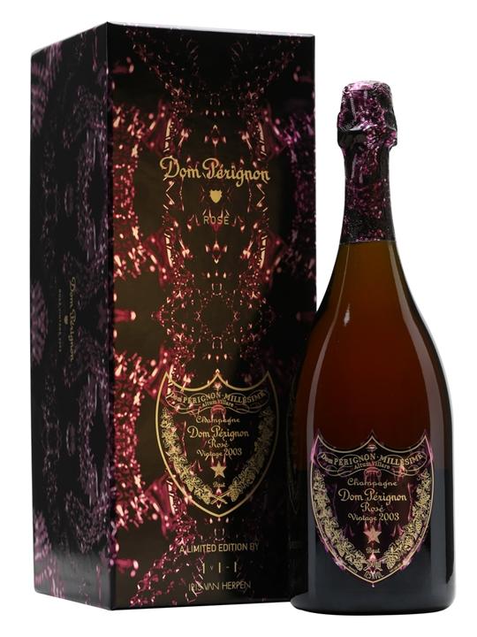 Dom Perignon 2003 Rose Champagne / Iris Van Herpen