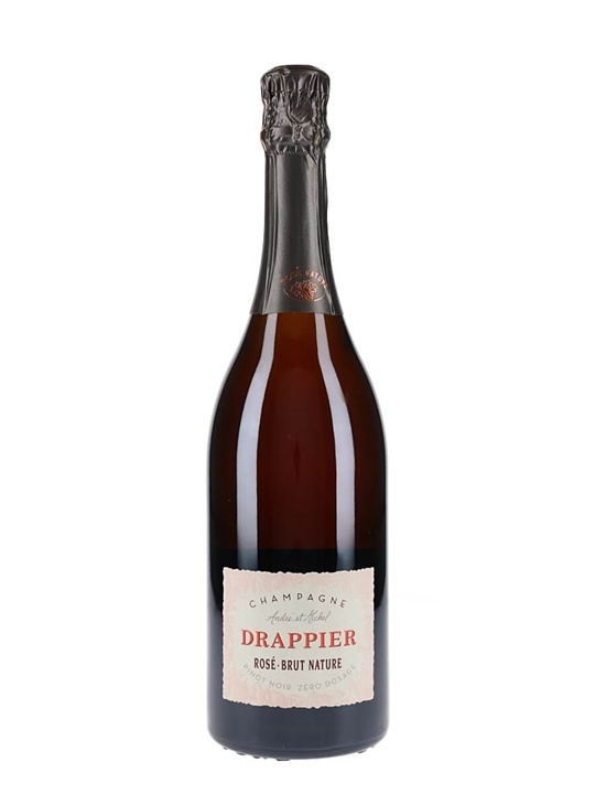 Drappier Rosé Brut Nature NV Champagne