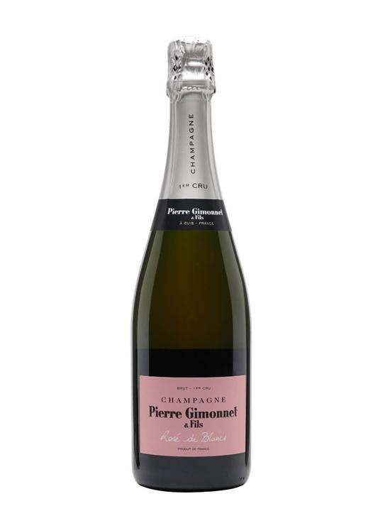 Gimonnet Cuvee Rose de Blancs Premier Cru Champagne / Brut