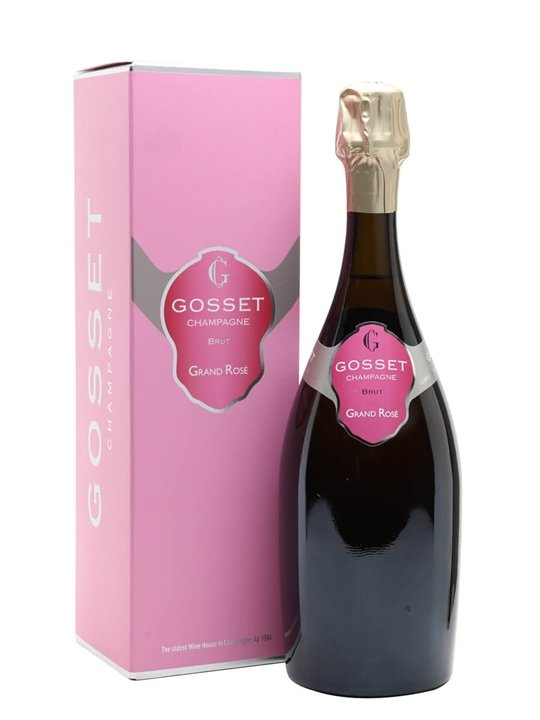 Gosset Grand Rose Brut NV Champagne