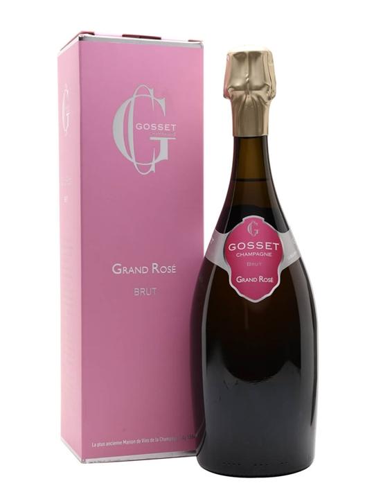 Gosset Grand Rose Brut NV Champagne