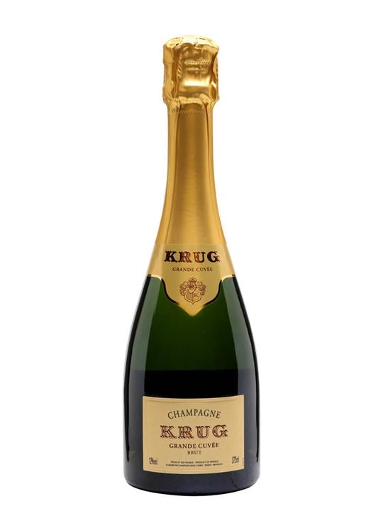 Krug Grande Cuvee Champagne / Half Bottle