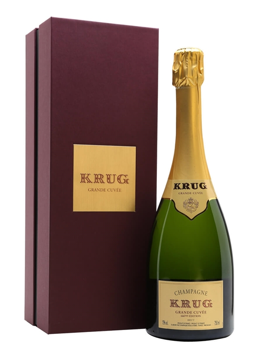 Krug Grande Cuvee NV Champagne / Gift Box