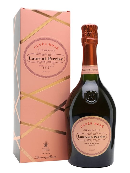 LaurentPerrier Rose NV Champagne  Gift Box