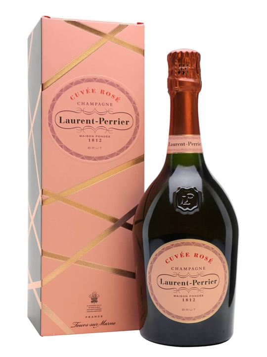 Laurent-Perrier Rose NV Champagne / Gift Box