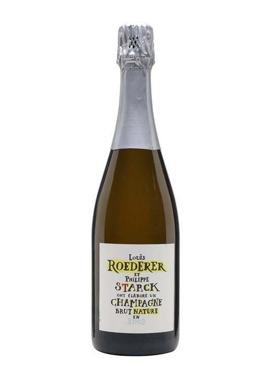 Louis Roederer Brut Nature 2009 Champagne / Philippe Starck