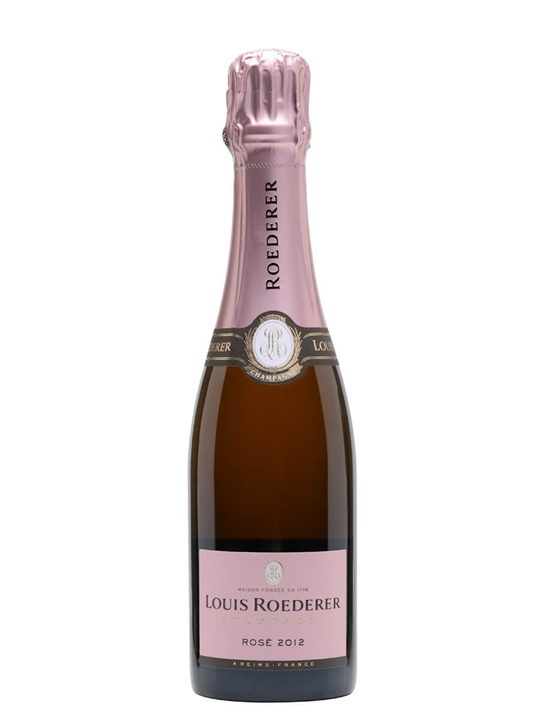 Louis Roederer Rose Vintage 2012 Champagne / Half Bottle