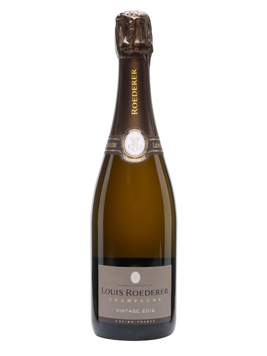 Louis Roederer 2012 Vintage Champagne