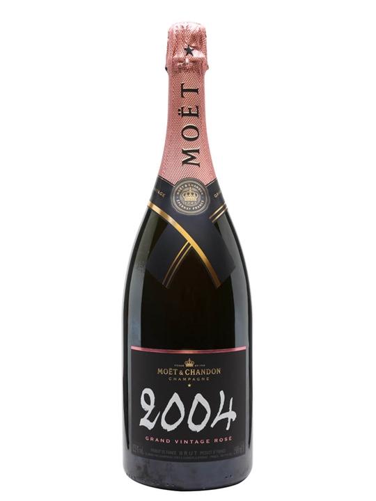 Moet & Chandon Vintage Rose 2004 Champagne / Magnum
