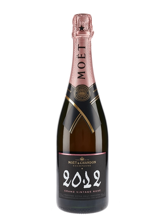 Moët & Chandon 2012 Grand Rose Champagne