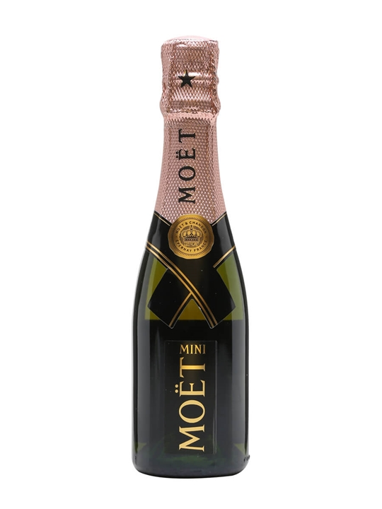 Moet & Chandon Rose Imperial NV Champagne  Small Bottle