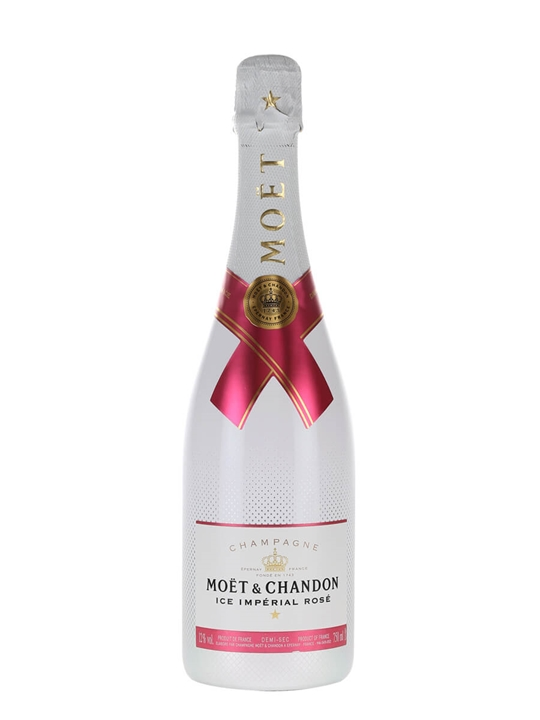 Moet Ice Imperial Rose Champagne