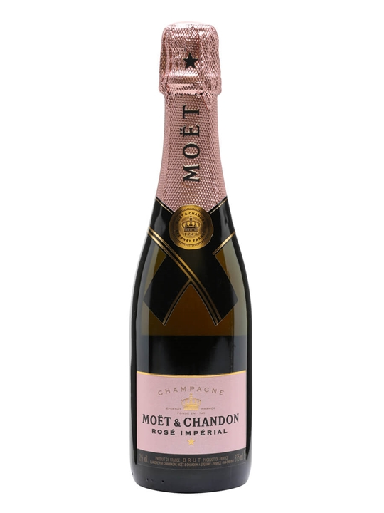 Moet & Chandon Rose Imperial Champagne / Half Bottle