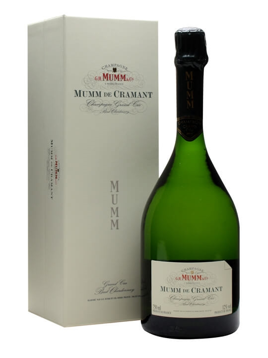 Mumm de Cramant Blanc de Blancs NV Champagne