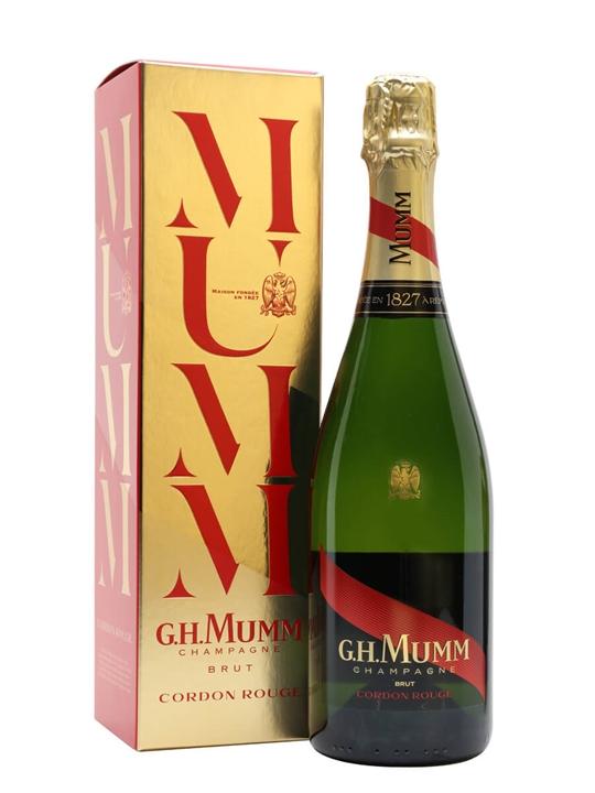 Mumm Cordon Rouge Champagne / Gift Box