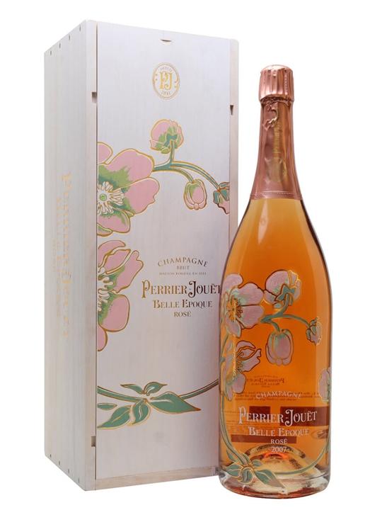 Perrier-Jouet 2007 Belle Epoque Rose / Jeroboam