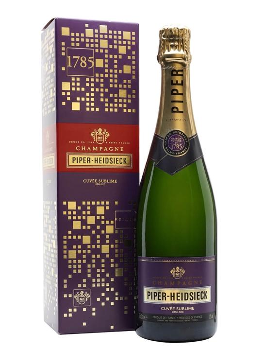 Piper Heidsieck Cuvee Sublime Demi-Sec NV Champagne