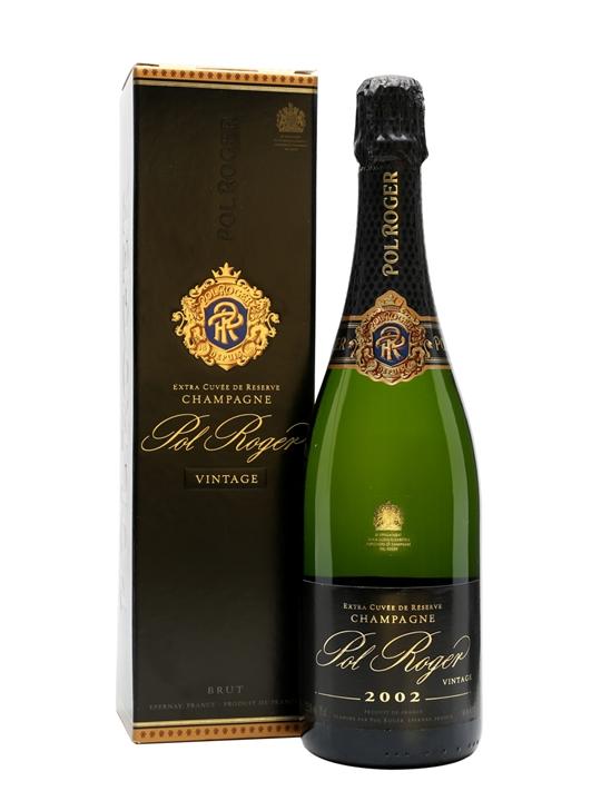 Pol Roger 2002 Vintage Champagne
