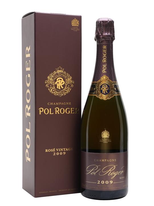 Pol Roger 2009 Rose Vintage Champagne