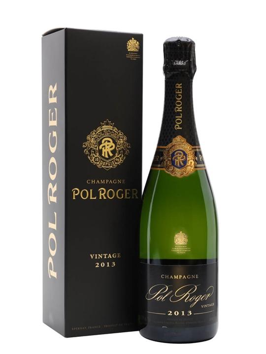Pol Roger Brut Vintage 2013 Champagne / Gift Box