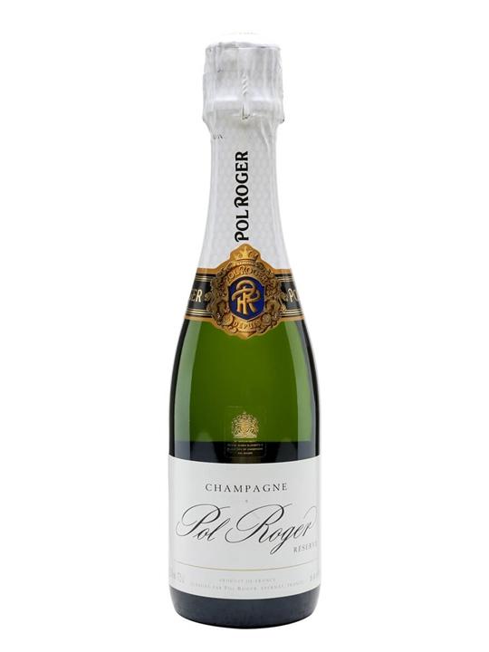 Pol Roger Reserve NV Champagne / Half Bottle