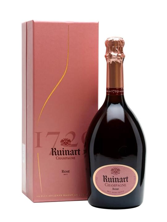 Ruinart Rose NV Champagne / Gift Box